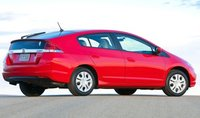 2013 Honda Insight, Back quarter view., manufacturer, exterior