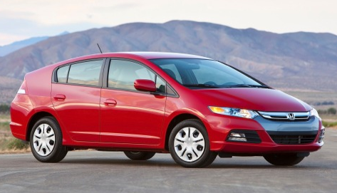 2013 Honda Insight, Front quarter view., manufacturer, exterior