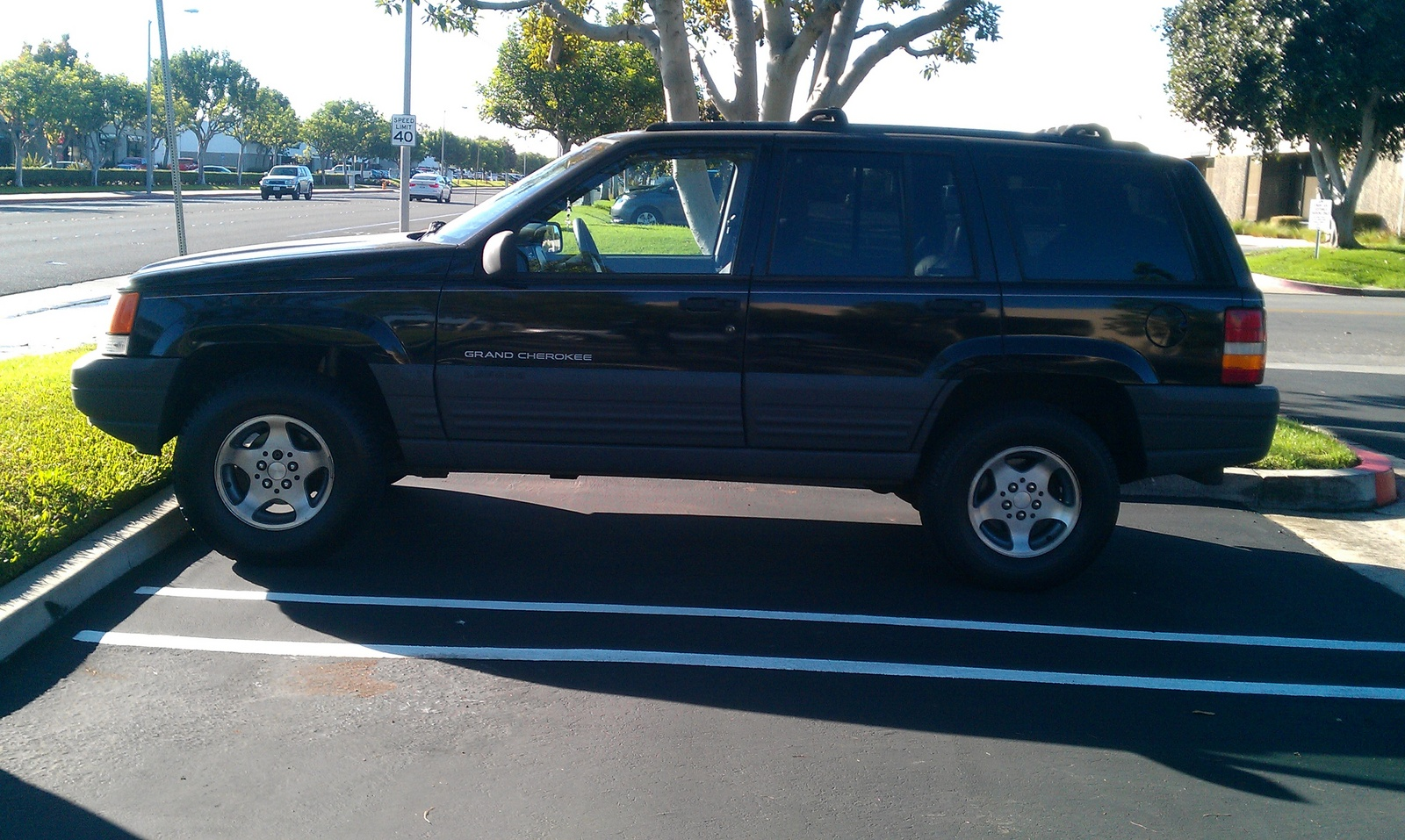 picture of 1996 jeep grand cherokee laredo 4wd exterior. Cars Review. Best American Auto & Cars Review