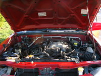 Picture of 2001 Nissan Frontier 4 Dr SE Crew Cab SB, engine