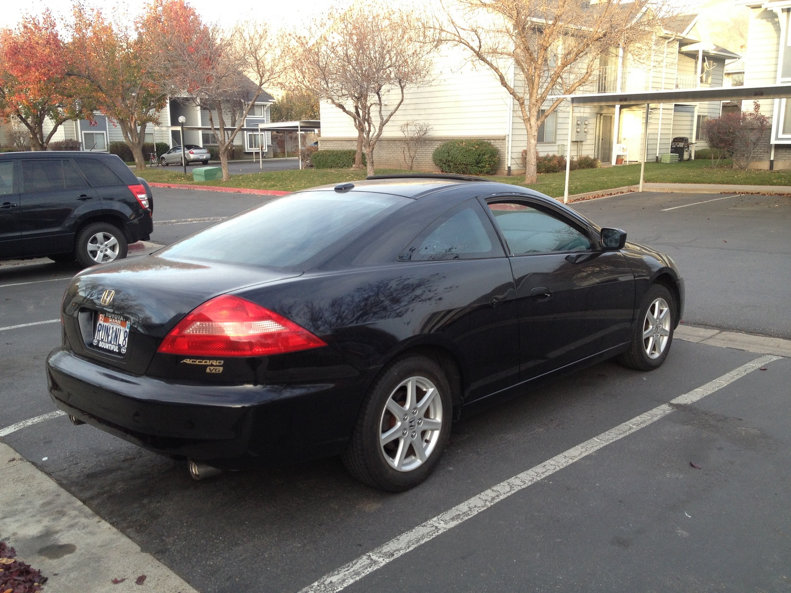 2004 honda accord ex w leather coupe trim overview. Black Bedroom Furniture Sets. Home Design Ideas