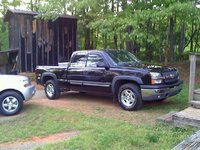 2004 Chevrolet Silverado 1500 Z71 Ext Cab Short Bed 4WD picture, exterior