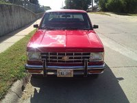 1987 Chevrolet S-10, after wax job, exterior