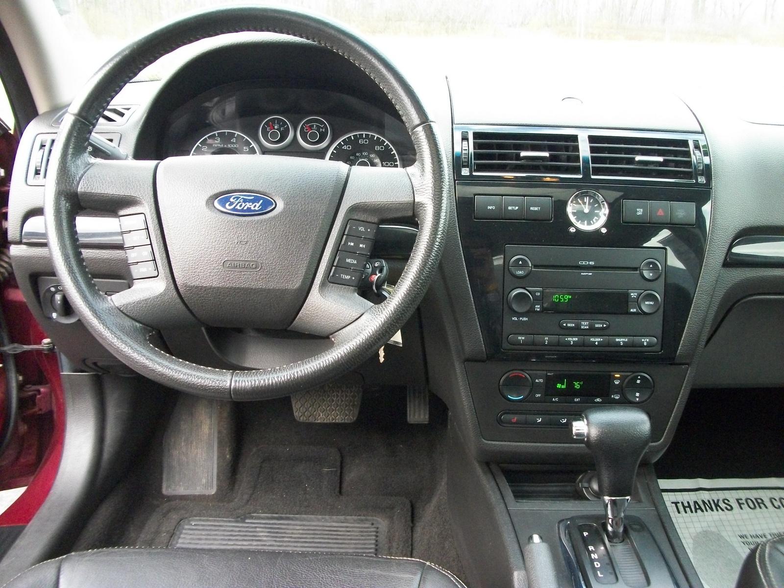 2007 Ford Fusion Rims >> 2007 Ford Fusion Interior - Carburetor Gallery