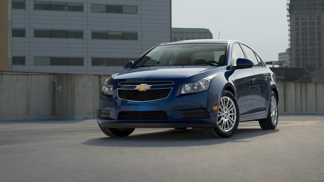 2013 Chevrolet Cruze, exterior front quarter view, exterior, manufacturer