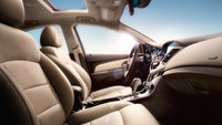 2013 Chevrolet Cruze, interior front passenger view, interior, manufacturer