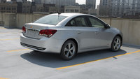 2013 Chevrolet Cruze, exterior right rear quarter view, manufacturer, exterior