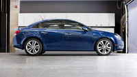 2013 Chevrolet Cruze, exterior side view full, manufacturer, exterior