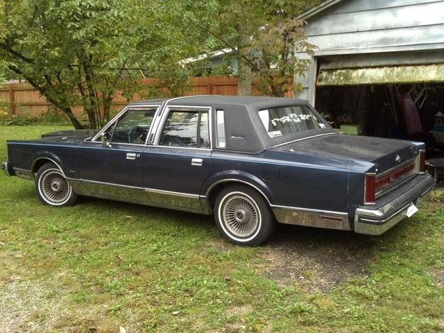 1985 Lincoln Town Car Pictures Cargurus