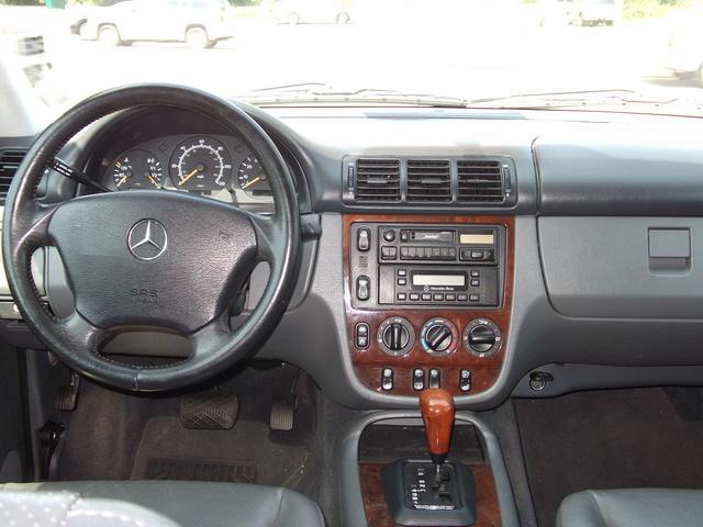 1999 Mercedes Benz M Class Interior Pictures Cargurus