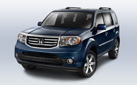 2013 Honda Pilot, front left quarter view, exterior, manufacturer, gallery_worthy