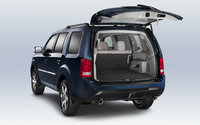 2013 Honda Pilot, rear cargo view, exterior, interior, manufacturer