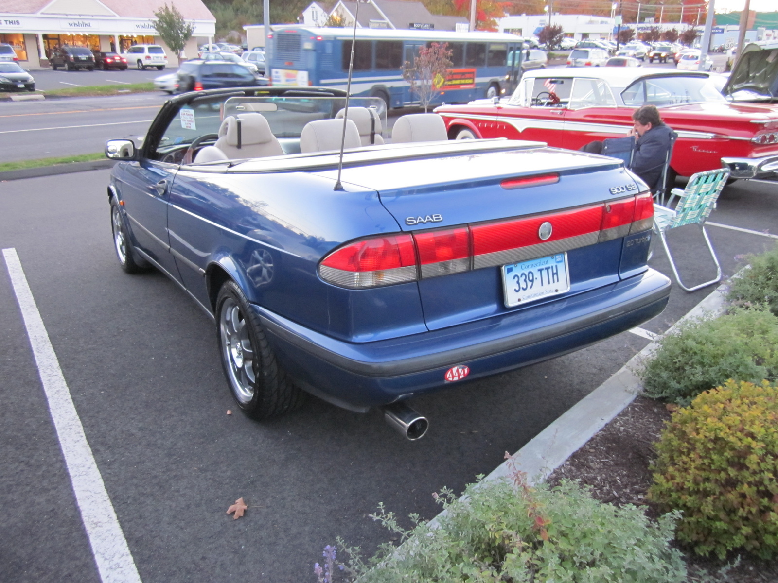 1998 Saab 900 2 Dr SE Turbo Convertible picture