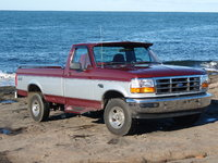 1996 Ford F-150 XL 4WD LB, 1996 F150 with 37,000 km, exterior