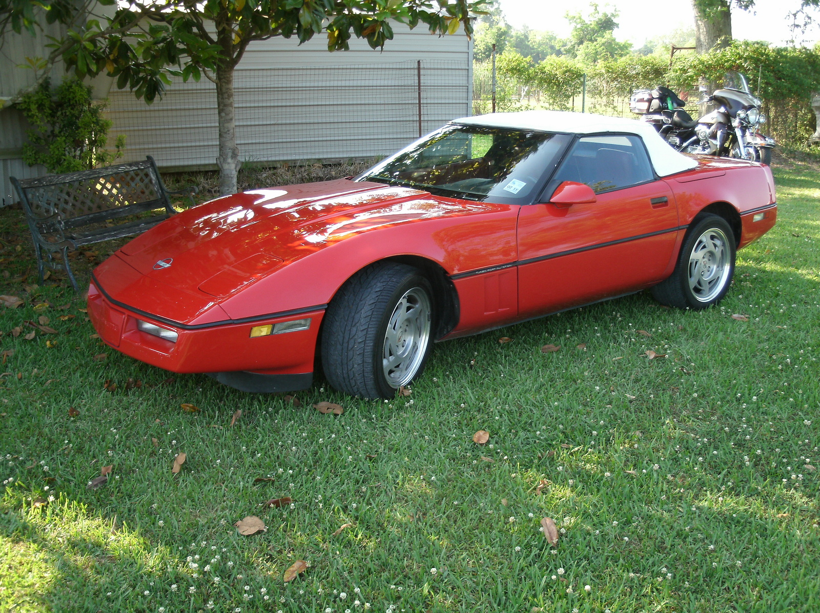 1990 Chevrolet Corvette Convertible picture, exterior