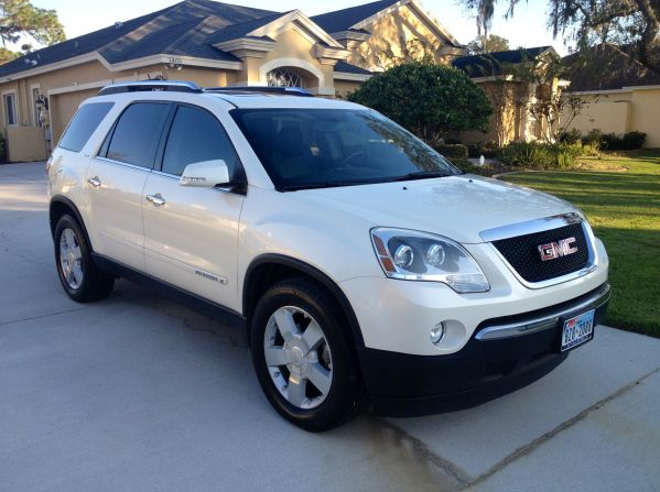 Picture of 2008 ...2008 Gmc Acadia Slt2 Specs