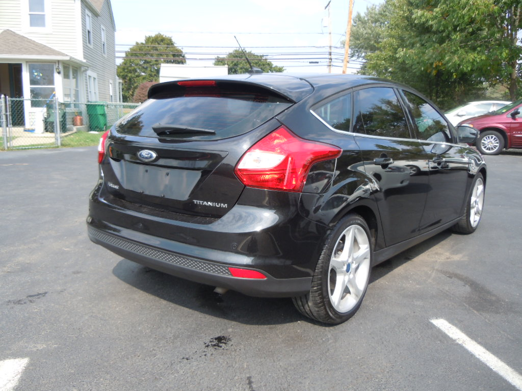 picture of 2012 ford focus titanium hatchback exterior. Cars Review. Best American Auto & Cars Review