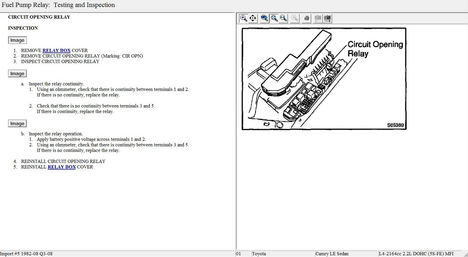 09 Toyota Avalon Fuse Diagram Images Gallery