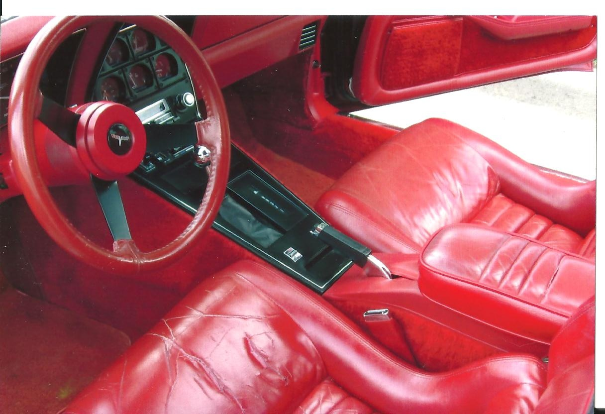 chevrolet corvette questions does anyone know where i can get 2 used leather seats for my 1980. Black Bedroom Furniture Sets. Home Design Ideas