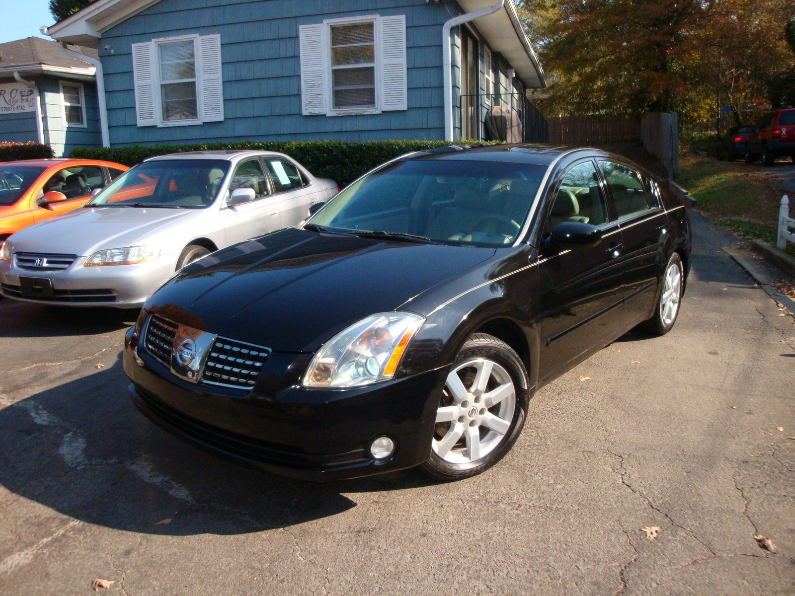 picture of 2006 nissan maxima 3 5 sl exterior. Black Bedroom Furniture Sets. Home Design Ideas
