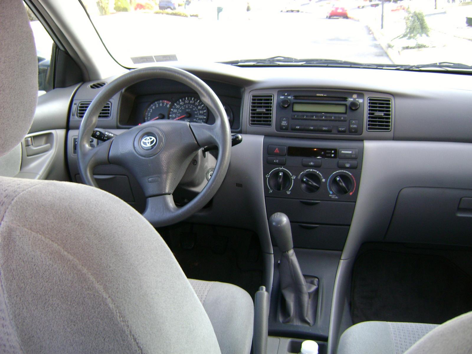 2008 Toyota Corolla Interior Pictures Cargurus
