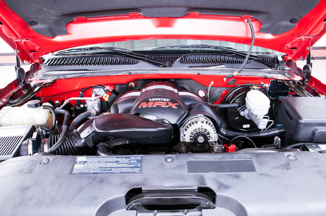 Picture of 2006 Chevrolet Silverado 1500 SS 4dr Extended Cab SB, engine, gallery_worthy