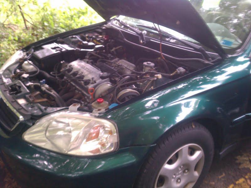 Picture of 1999 Honda Accord EX, engine