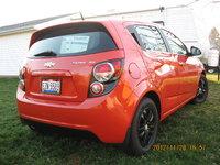 2012 Chevrolet Sonic LT Hatchback, 2012 Chevrolet Sonic SS, exterior