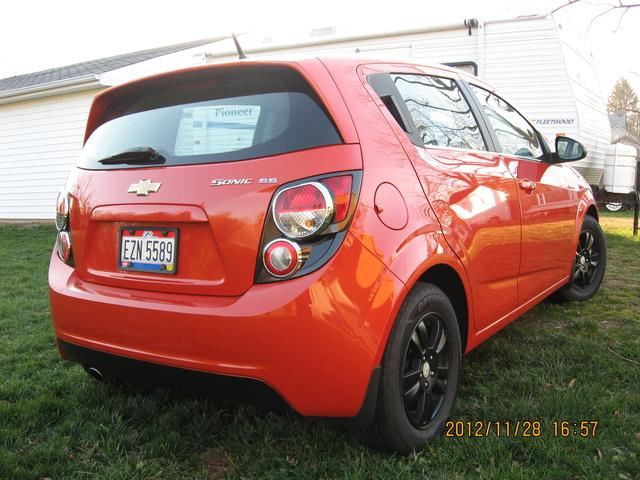 2012 Chevrolet Sonic 1LT Hatchback FWD, 2012 Chevrolet Sonic SS, exterior, gallery_worthy