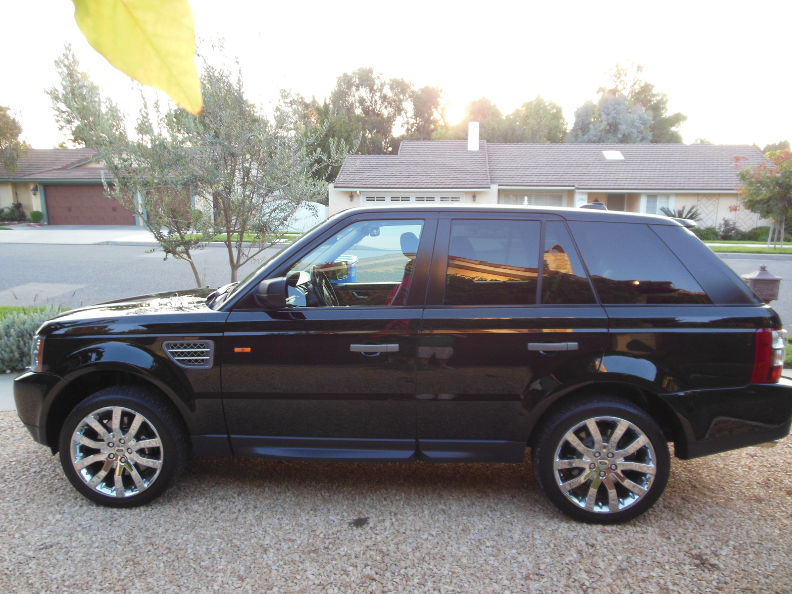picture of 2007 land rover range rover sport supercharged exterior. Black Bedroom Furniture Sets. Home Design Ideas