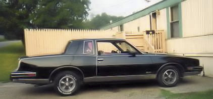Black Sunshine- 1986 Pontiac Grand Prix