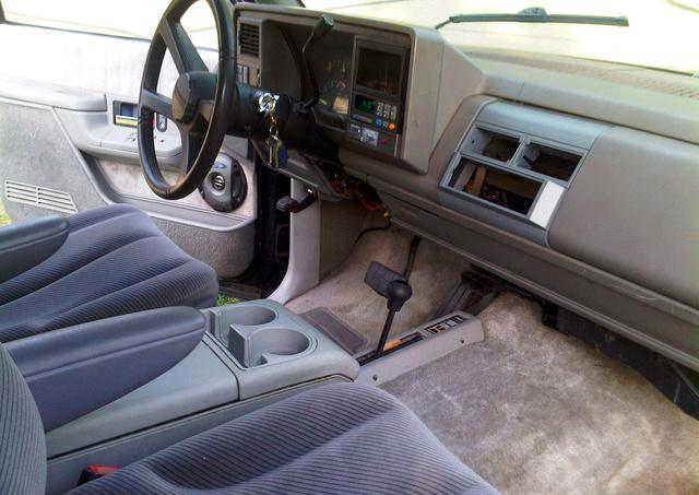 1994 Chevrolet Blazer - Interior Pictures - CarGurus