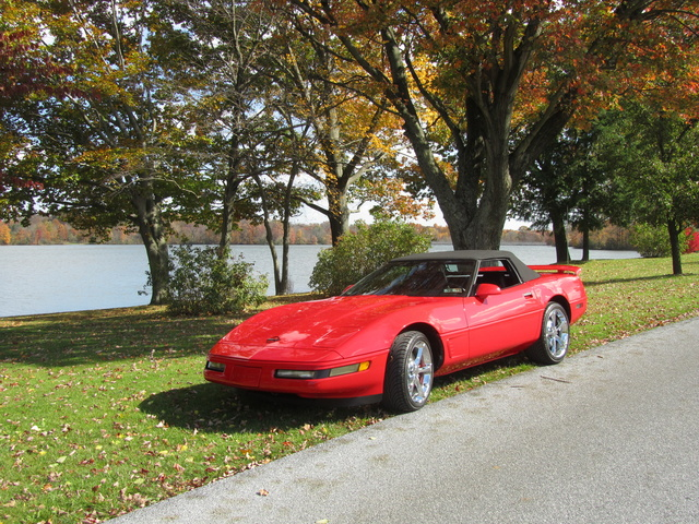 Picture of 1995 Chevrolet Corvette Convertible RWD, exterior, gallery_worthy