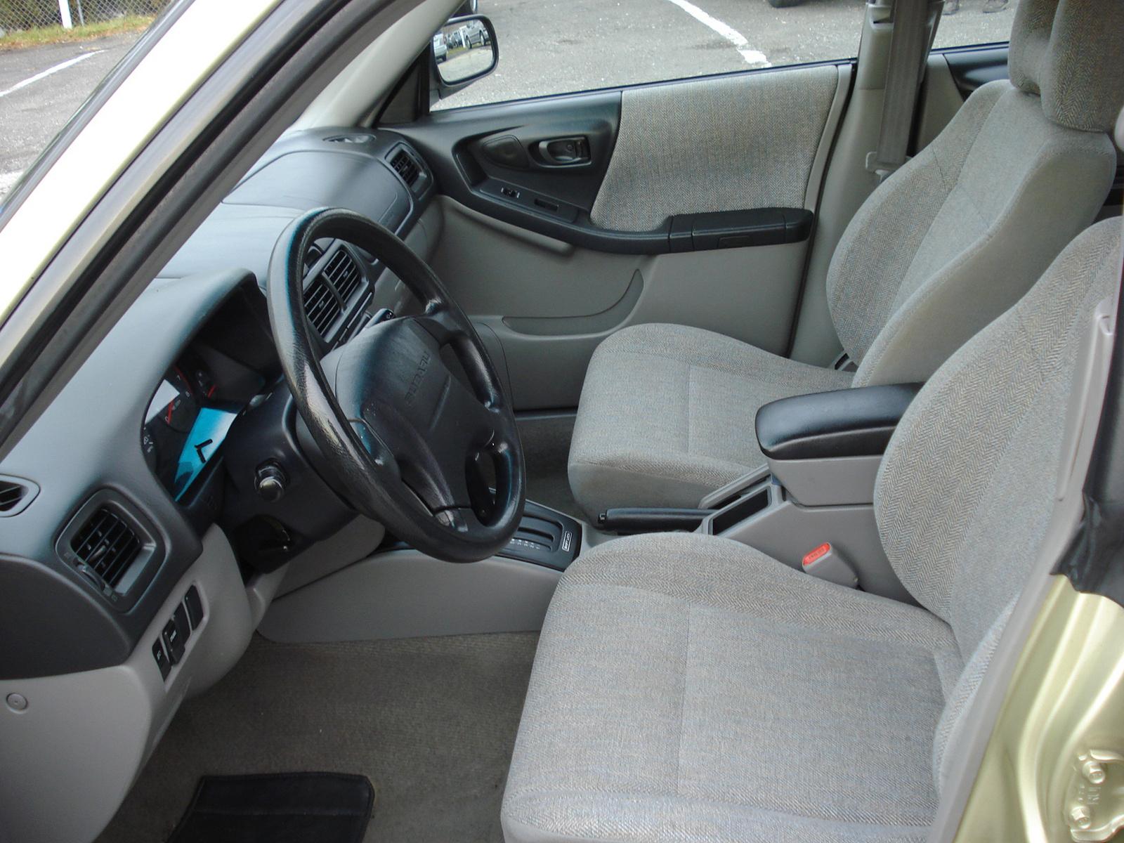 2002 Subaru Forester Interior Pictures Cargurus