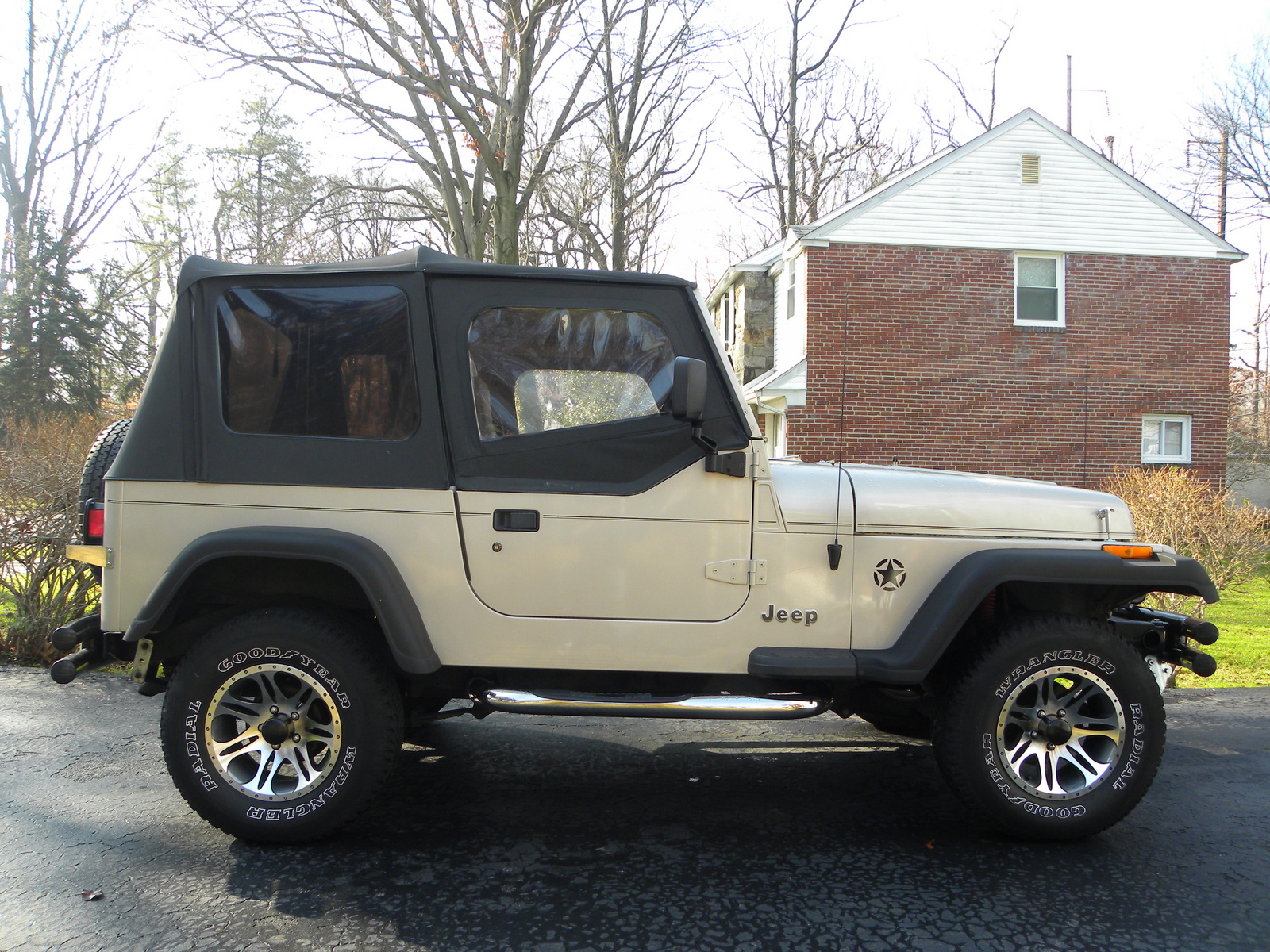 Jeep Wrangler S Pic on 1995 Toyota 4runner Fuel Filter Location