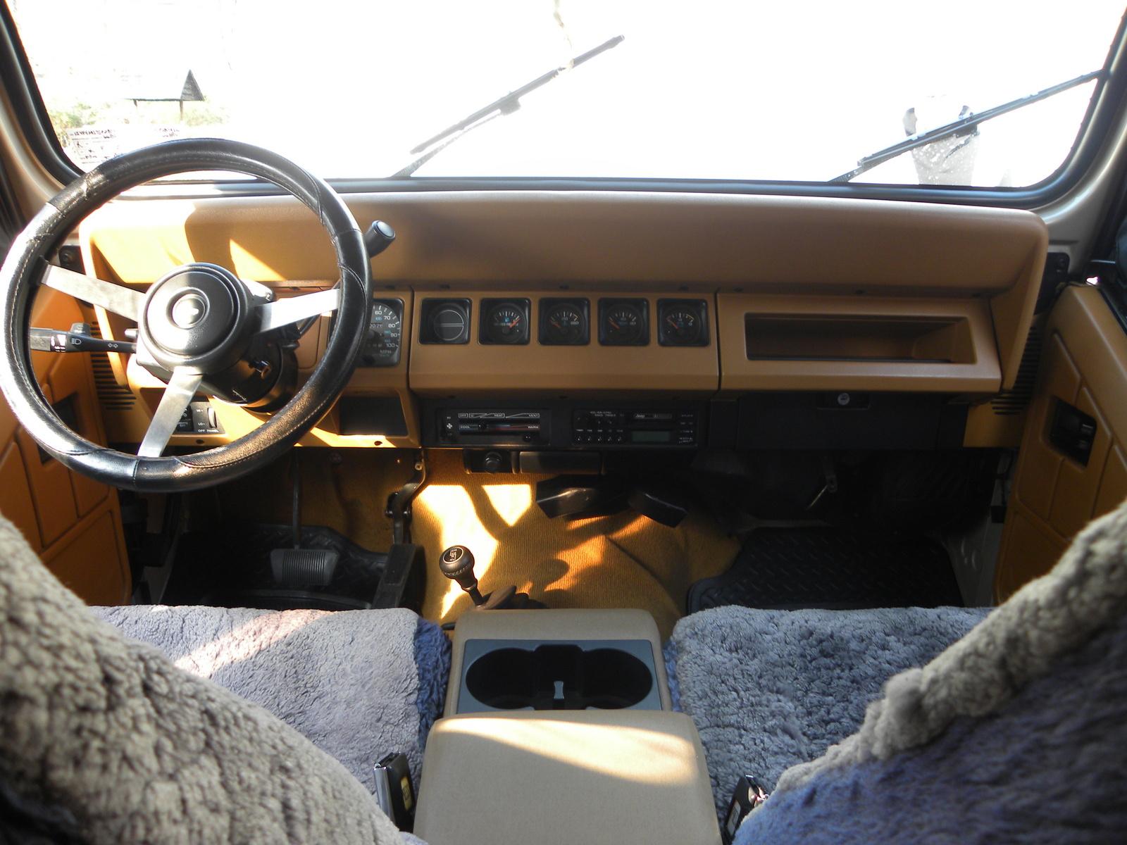 1995 Jeep Wrangler Interior Pictures Cargurus