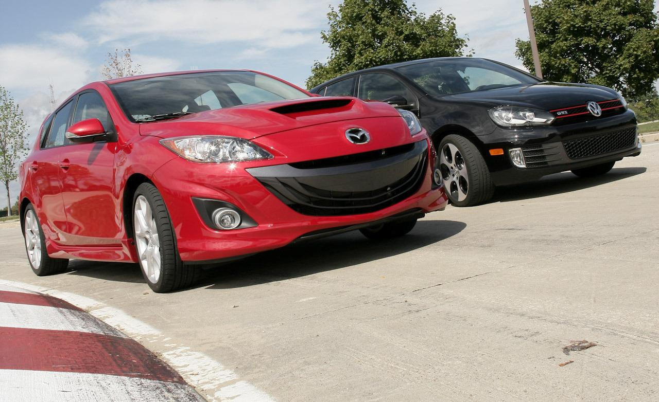 2012 Mazda MAZDASPEED3 Touring w/ R Production picture, exterior