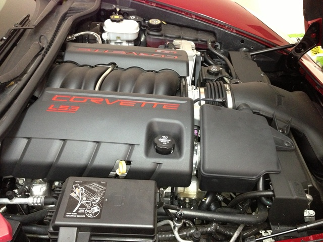 Picture of 2012 Chevrolet Corvette Coupe 2LT, engine