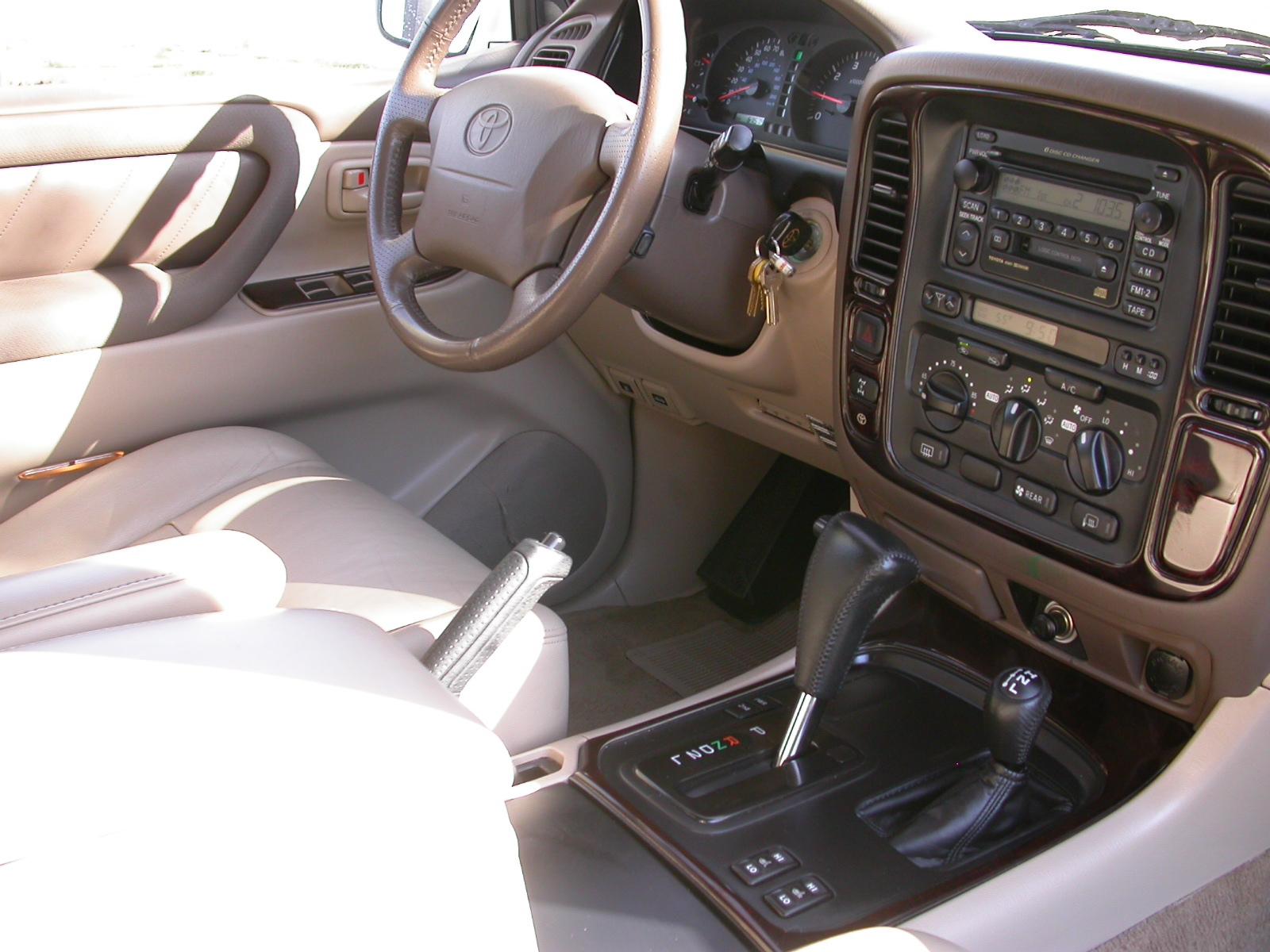 2000 Toyota Land Cruiser Pictures Cargurus