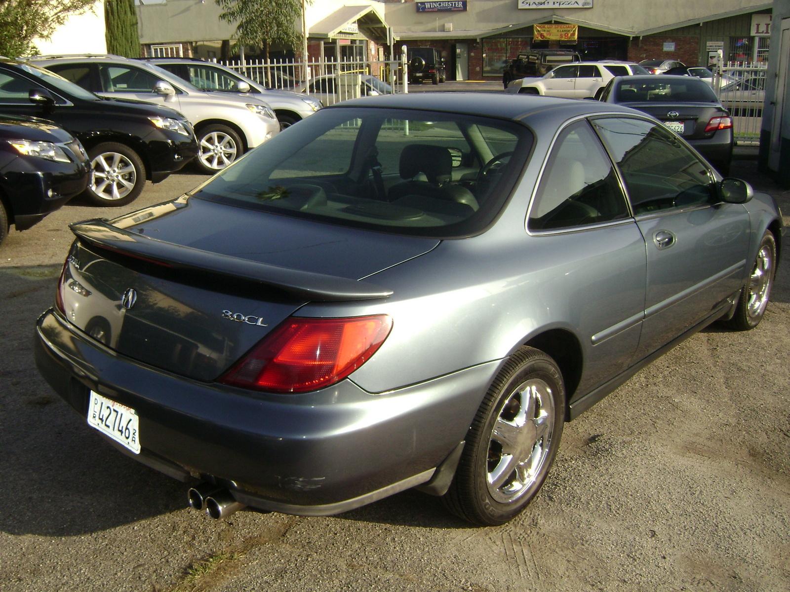 Acura Cl Dr Premium Coupe Pic