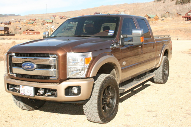 Picture of 2011 Ford F-250 Super Duty King Ranch Crew Cab 4WD, exterior, gallery_worthy