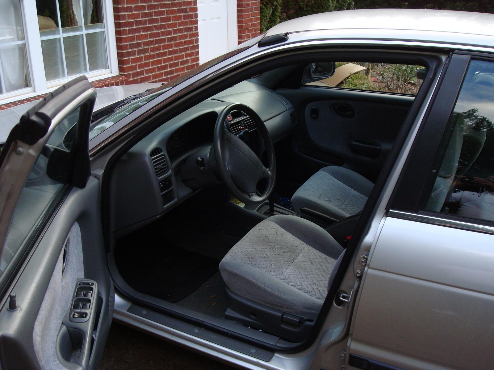 1996 Suzuki Esteem Glx Related Infomationspecifications Weili 98 Wiring Diagram 2000 4 Dr Sedan Picture Interior