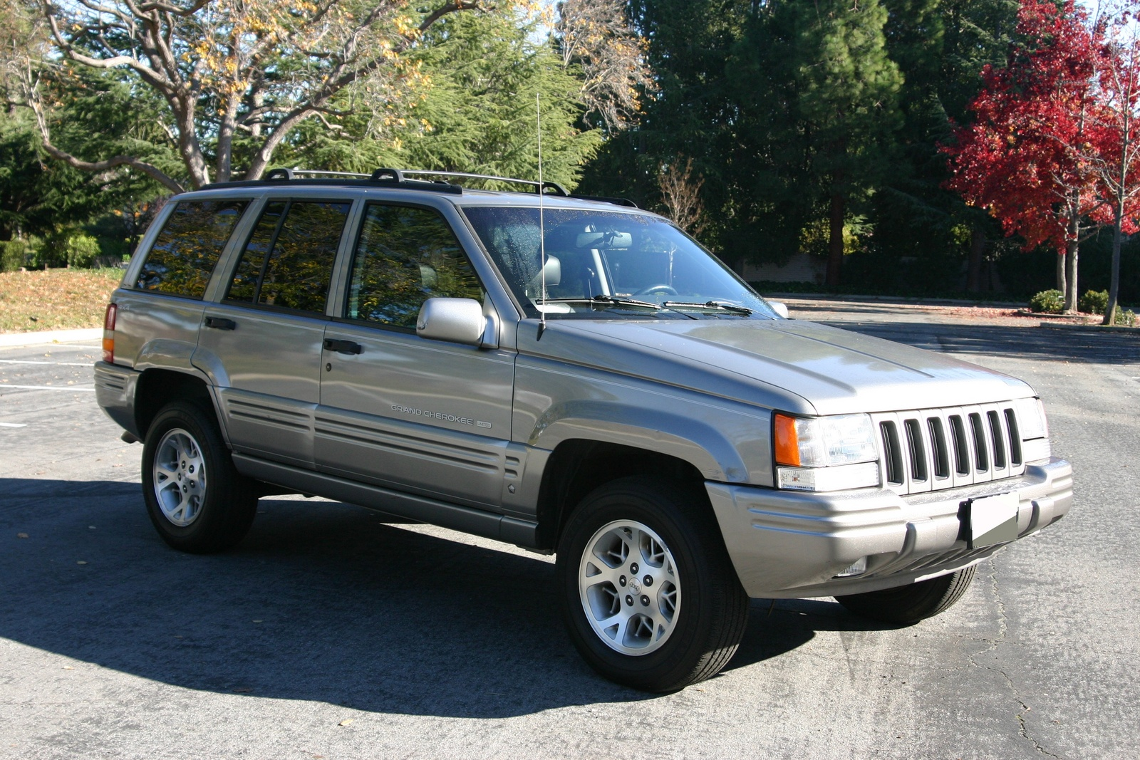 picture of 1997 jeep grand cherokee limited 4wd exterior. Black Bedroom Furniture Sets. Home Design Ideas