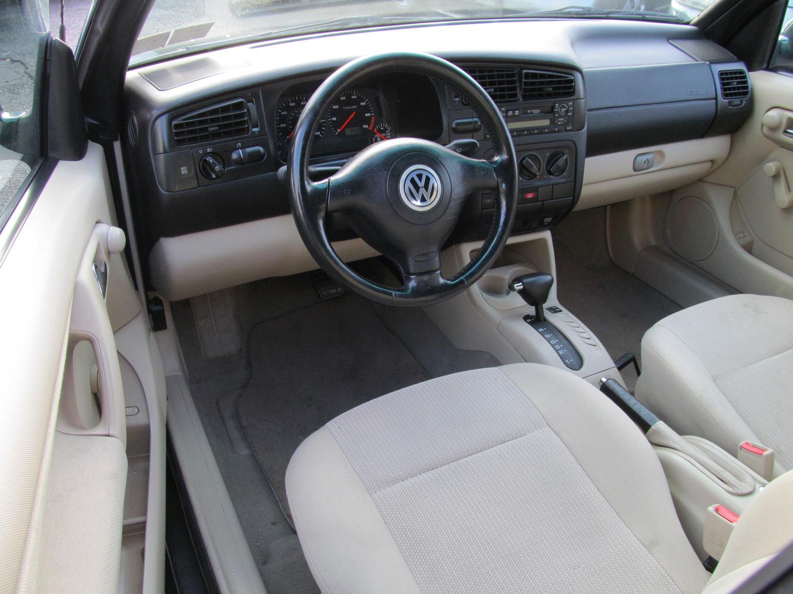 volkswagen cabrio interior pictures cargurus