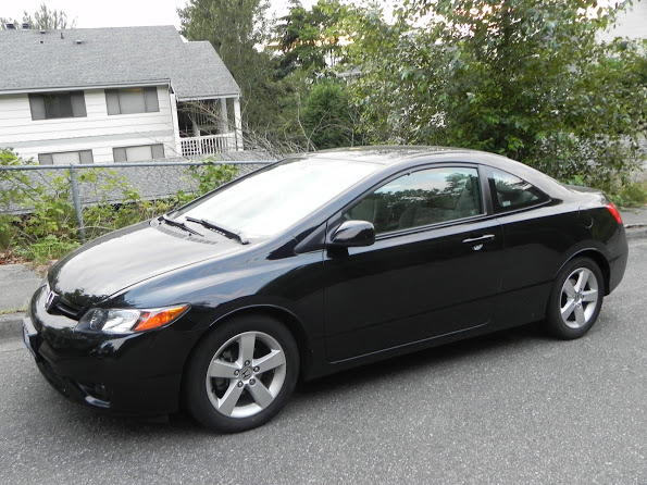picture of 2007 honda civic coupe ex exterior. Black Bedroom Furniture Sets. Home Design Ideas
