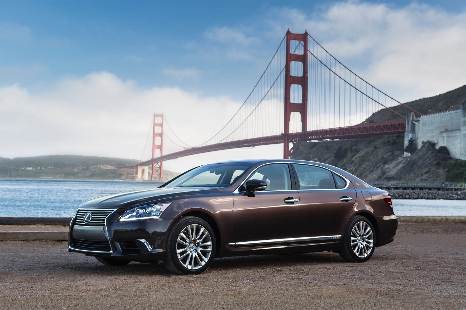 2013 Lexus LS 600h L, Front-quarter view, exterior, manufacturer