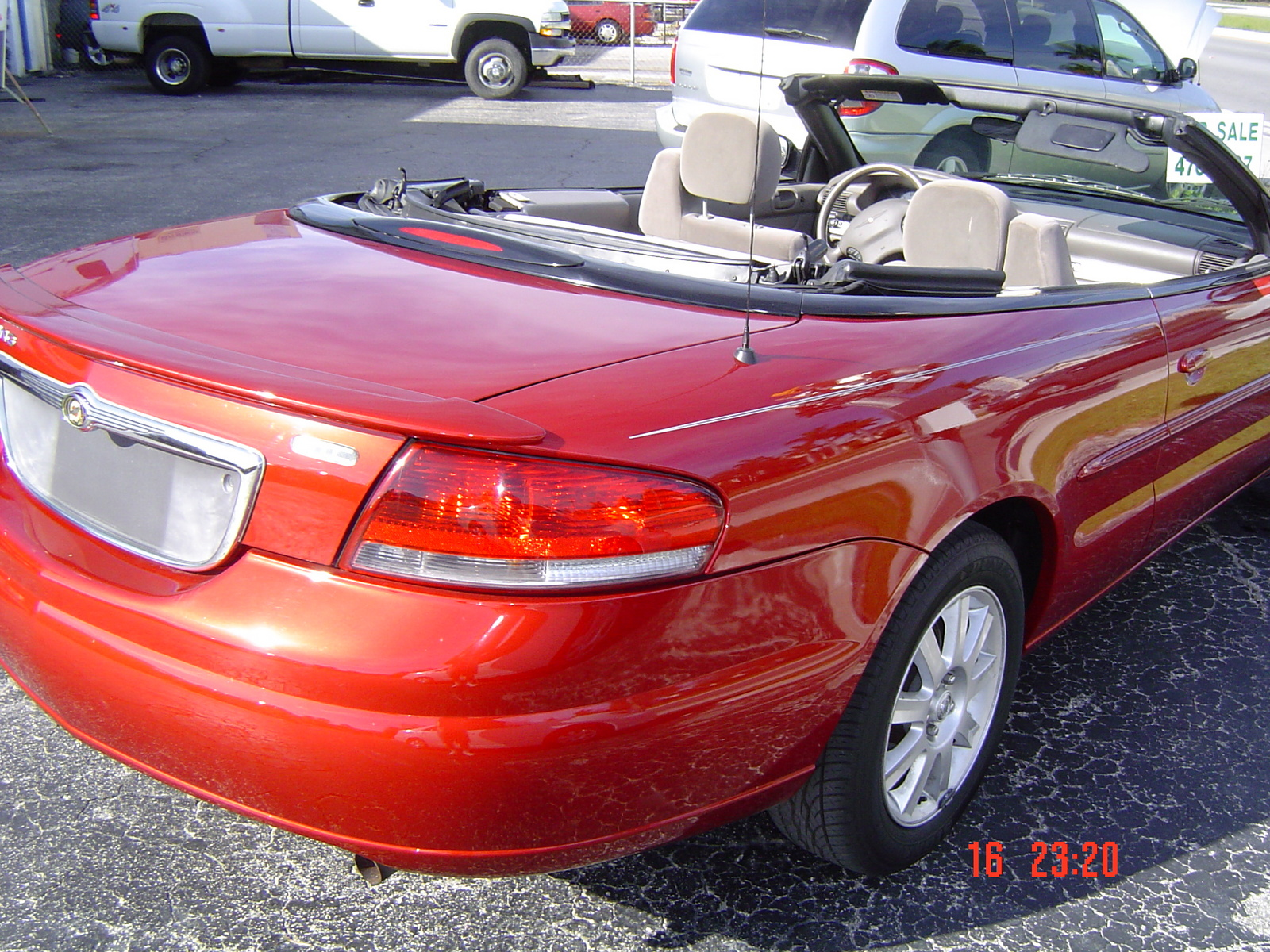 2003 Chrysler Sebring GTC Convertible picture