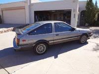 1985 Toyota Corolla GTS Hatchback, At the old homestead.  Garaged with car cover on!, exterior