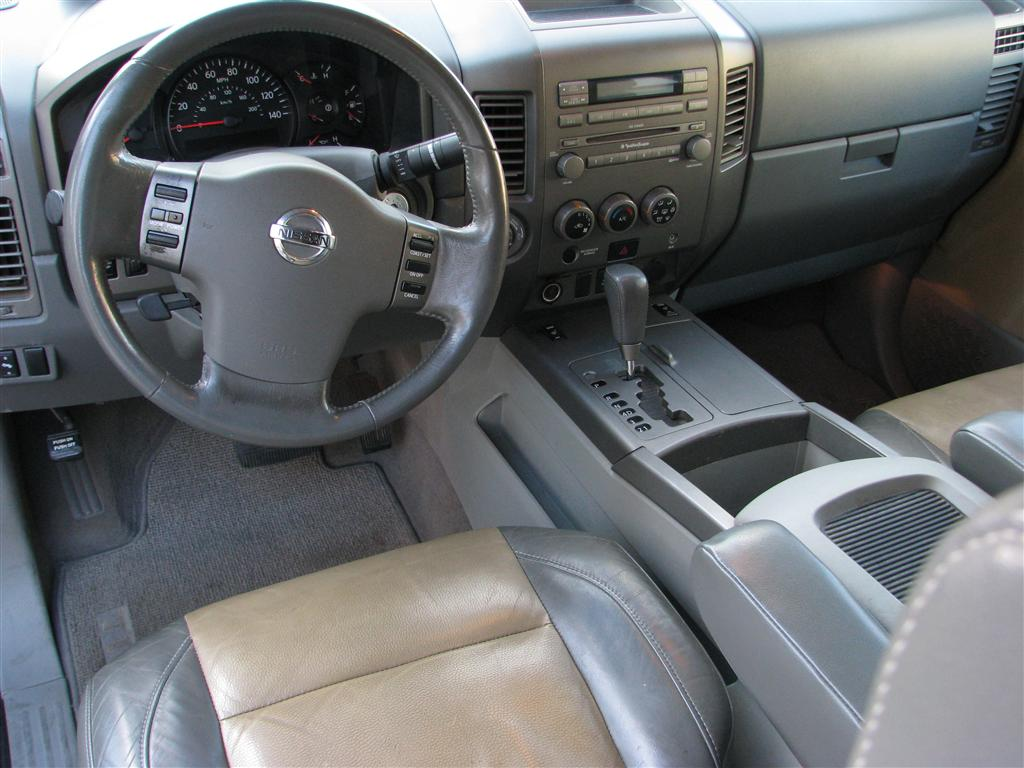 Sunny King Ford >> 2004 Nissan Titan - Interior Pictures - CarGurus