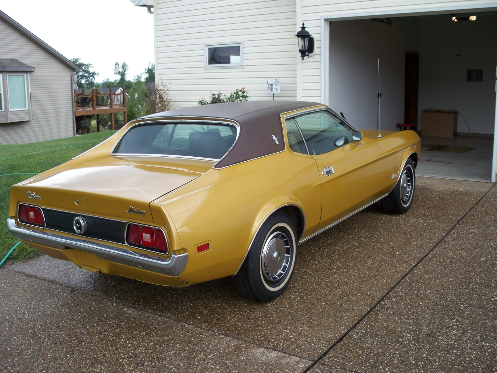 1972 Ford Mustang Trim Information Cargurus